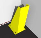 Protectie metalica pentru capat raft