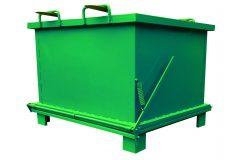 Container cu podea rabatabila