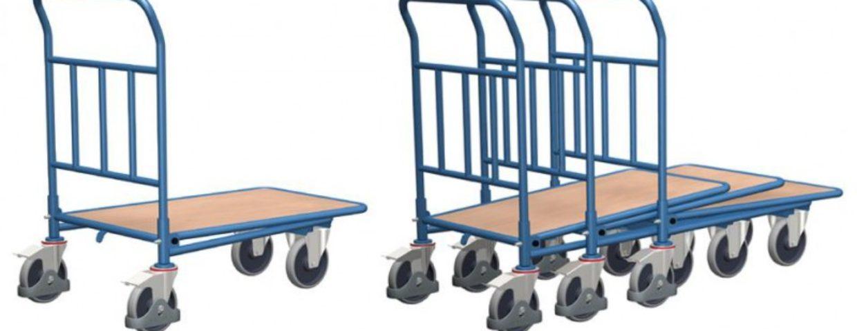 Carucior transport industrial pentru sarcini grele