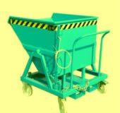 Container basculant cu roti