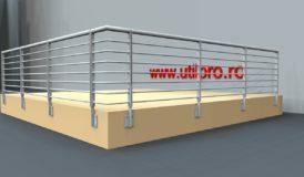 Balustrada metalica de protectie