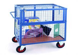 Carucior pentru transport valori securizat 6