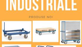 Carucioare transport marfa cu platforma metalica 3